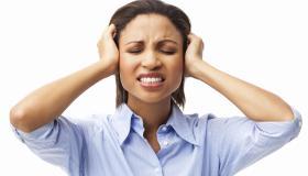 Irritated Female Executive - Isolated