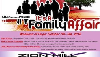 Weekend Of Hope