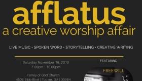 Afflatus: A Creative Worship Affair