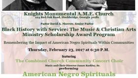 Knights Monumental AME Church Black History