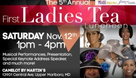 First Lady Tea Lunch Graphic