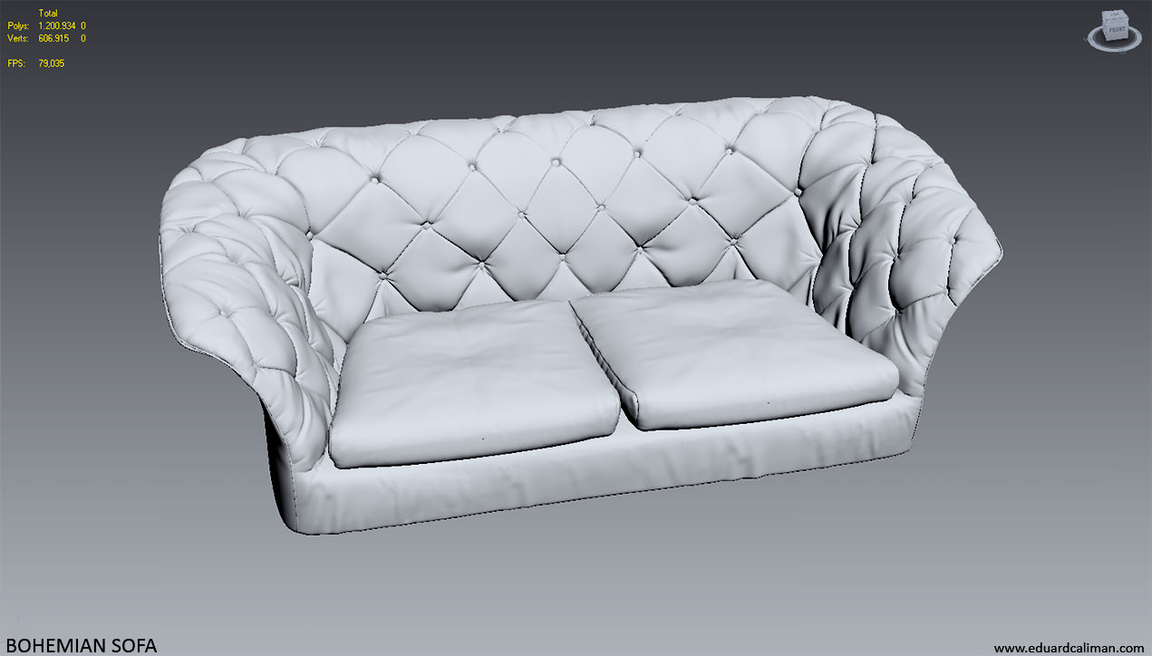 3d Modeling How To The Bohemian Sofa With Marvelous Designer 3d Architectural Visualization Rendering Blog