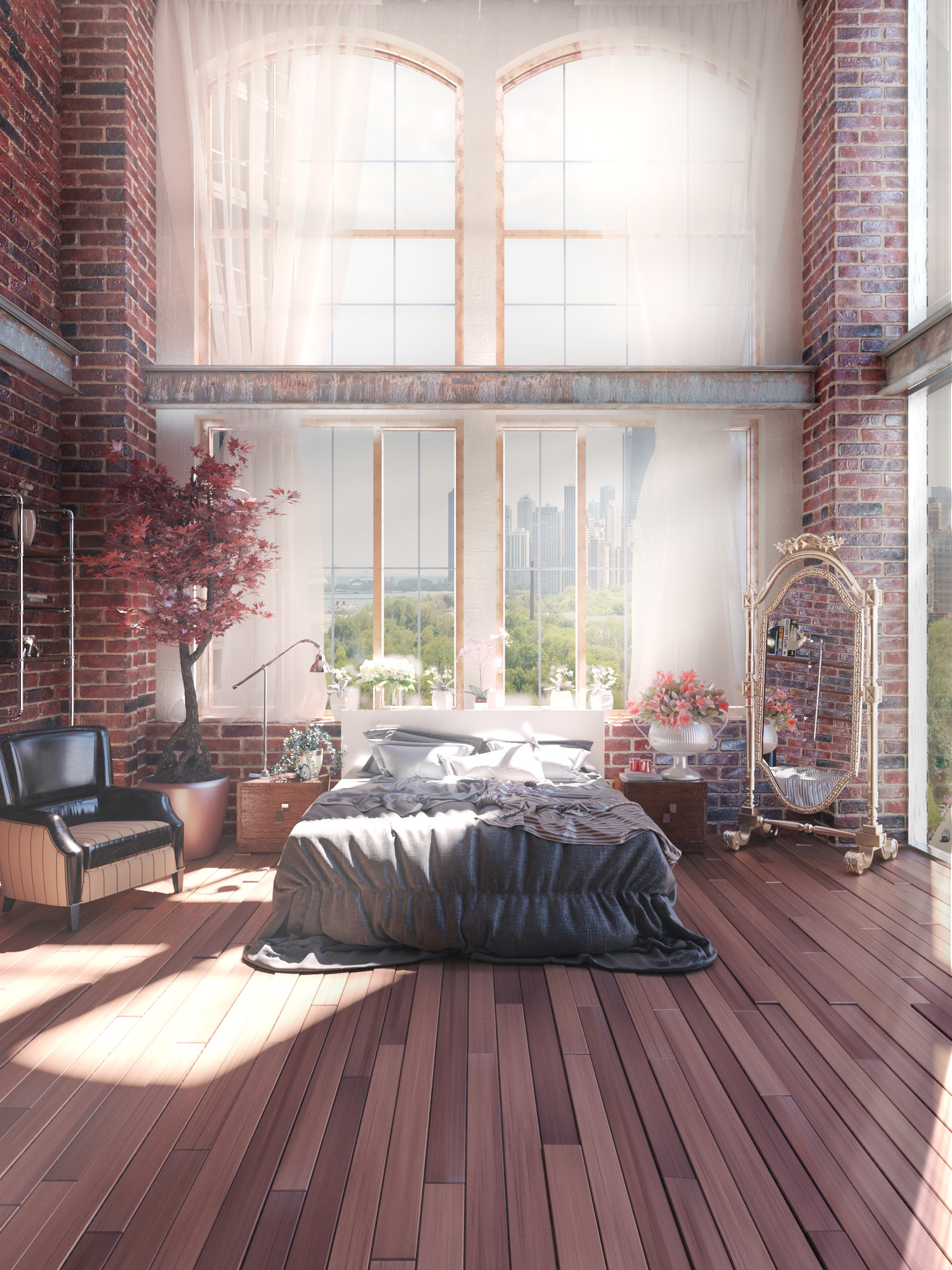 Loft Perth Perth Loft Ronen Bekerman 3d Architectural Visualization