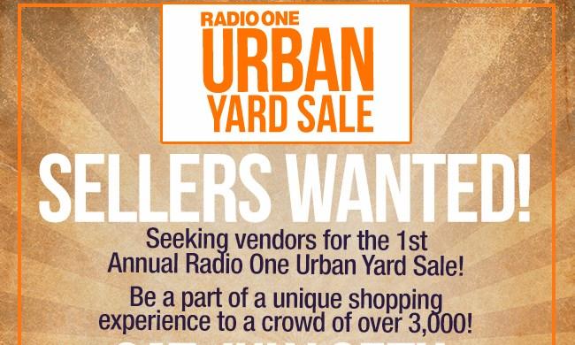 Radio One Urban Yard Sale
