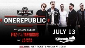 OneRepublic Indy Flyer