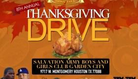 8th Annual BossLife Thanksgiving Drive