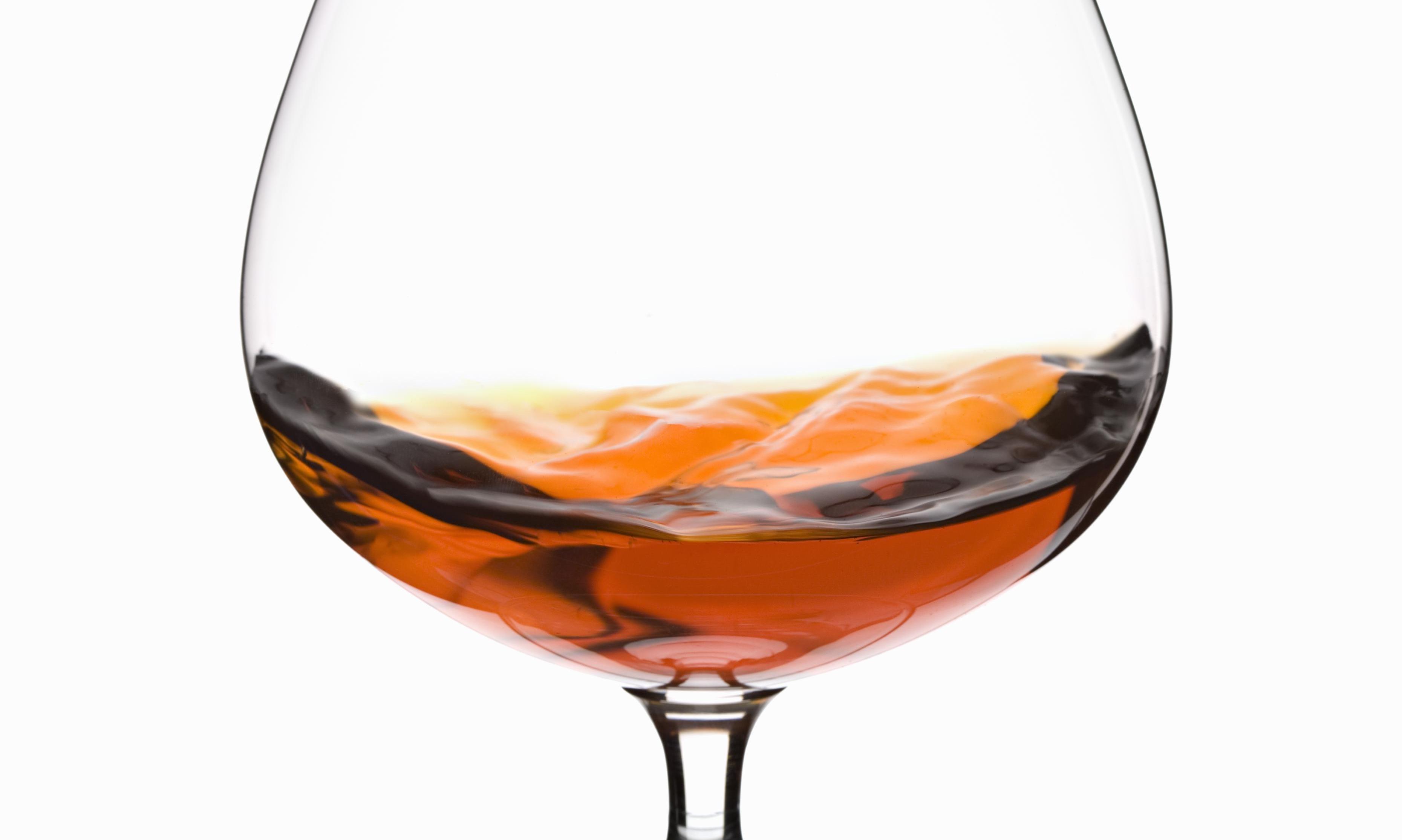Glass of Brandy (Cognac)
