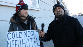 Panhandling Goes Digital In Detroit: First Homeless Man To Accept Credit Card Donations [VIDEO]