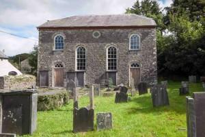Yr Hen Capel, Llwynrhydowen, where the congregation were locked out as they hadn't yet got the secret ballot.