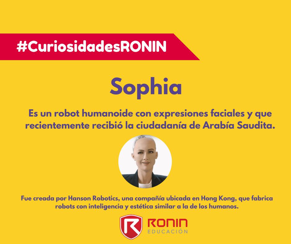 Curiosidades Sophia Robot