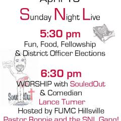 Wytheville District Youth Event April 19th @ 5:30pm