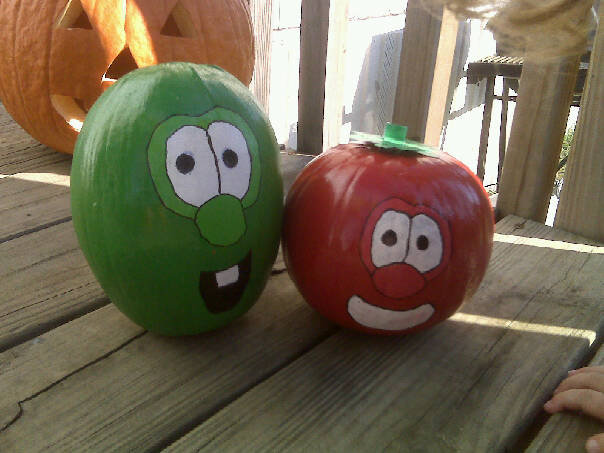 bob and Larry pumpkins