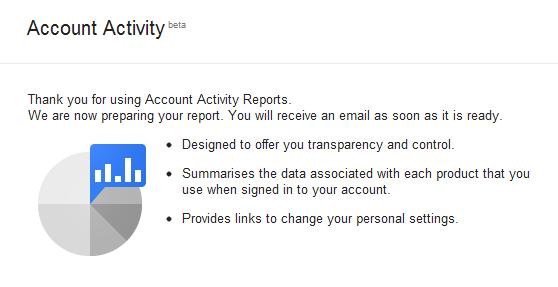 google-account-activity