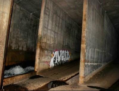 jones falls conduit junction chamber 1