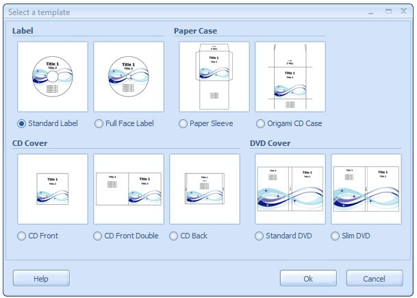 How to create CD labels with CD DVD Label Creator? CD DVD