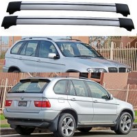 BMW X5 E53 5dr 4x4 00-07 Aero Cross bars set Roof Rack ...