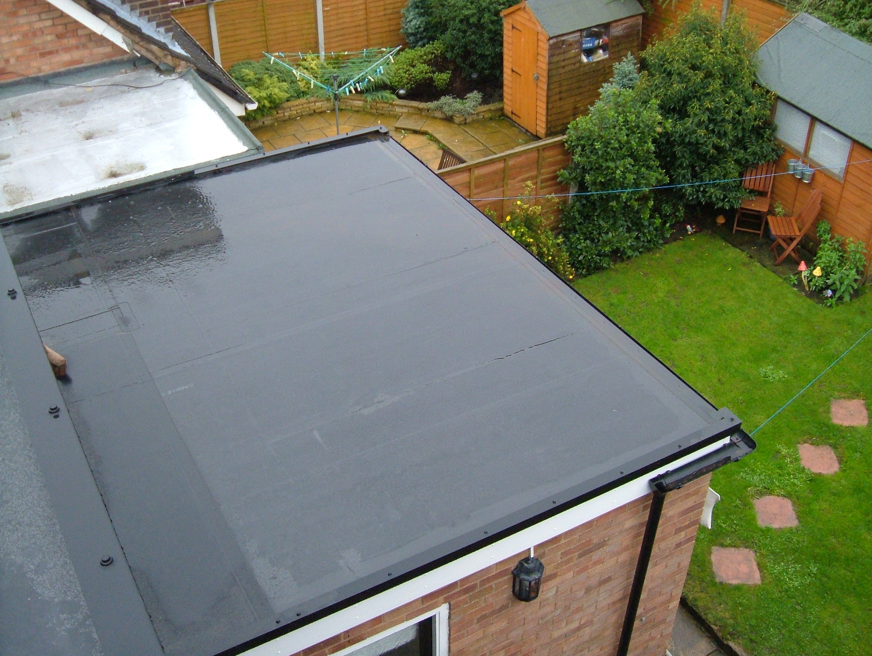 Epdm Rol Flat Roof Materials Installation Costs 2019 Pvc Vs Tpo Epdm