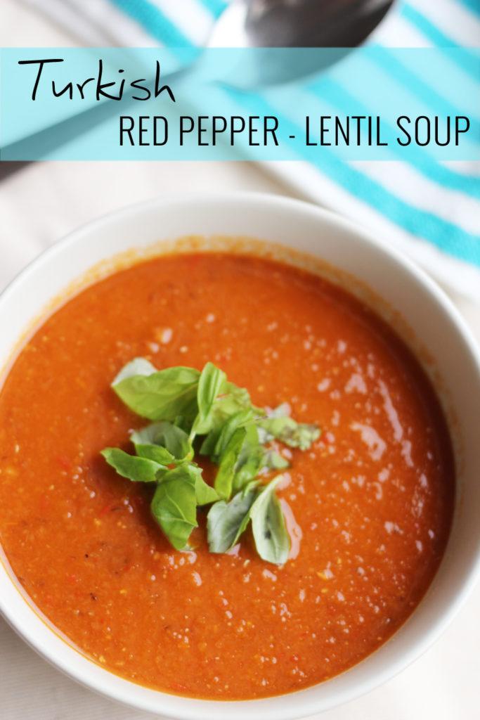 Turkish Red Pepper - Lentil Soup