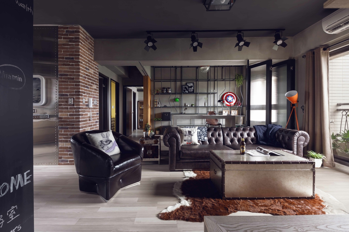 Modern Country Wohnzimmer Modern Apartment Design For Men With Hero's Retreat Theme