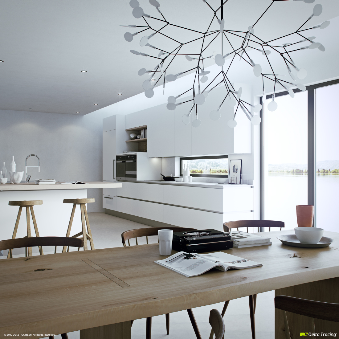 Fancy Kitchen Lights Modern Kitchen Layout And Beautiful Lighting Roohome