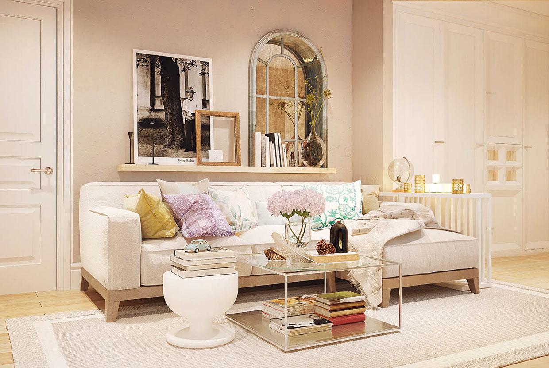 Romantic Living Room