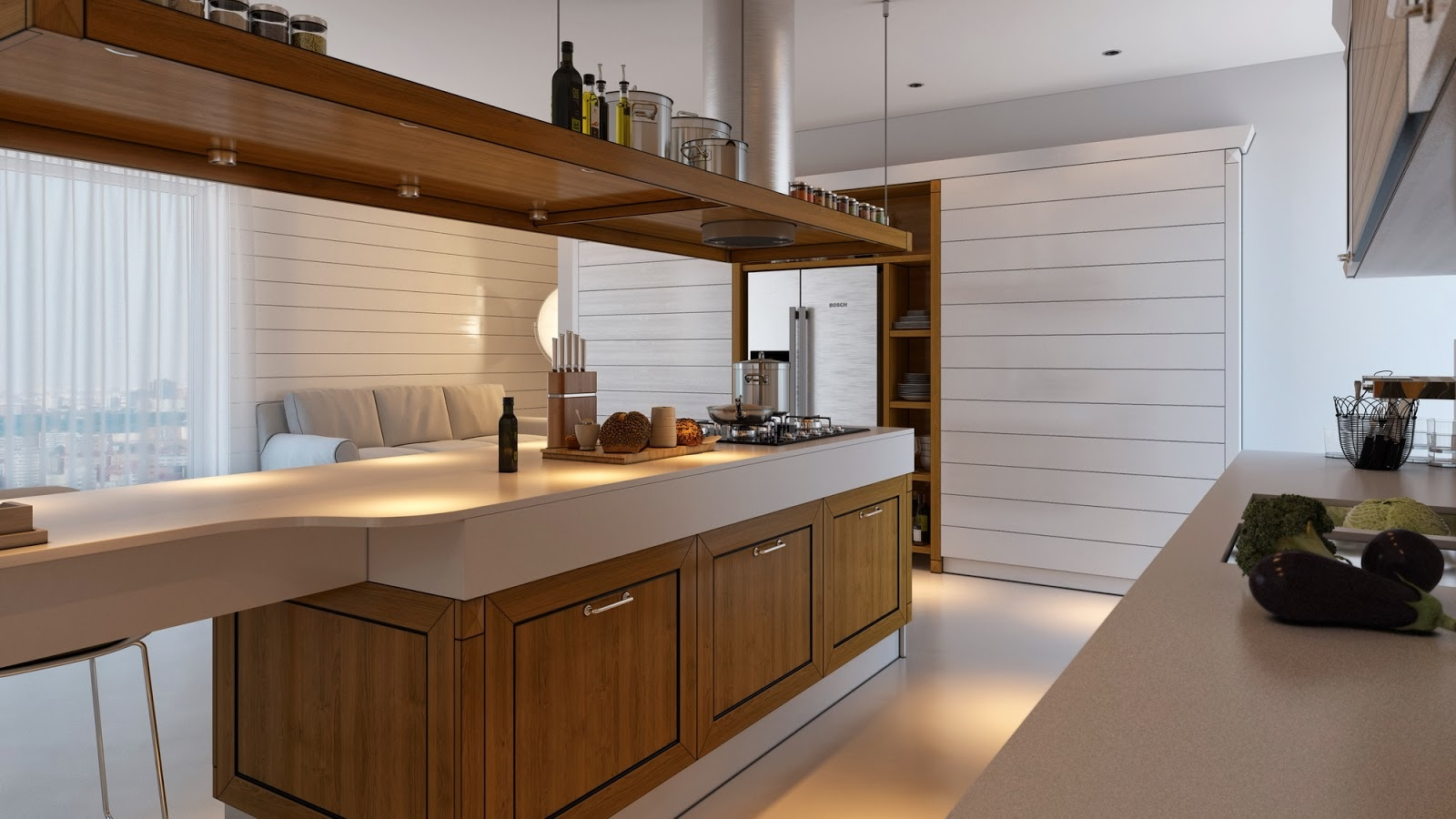 Minimalist Kitchen Design 2 Minimalist Kitchen Design That Will Stunning You By