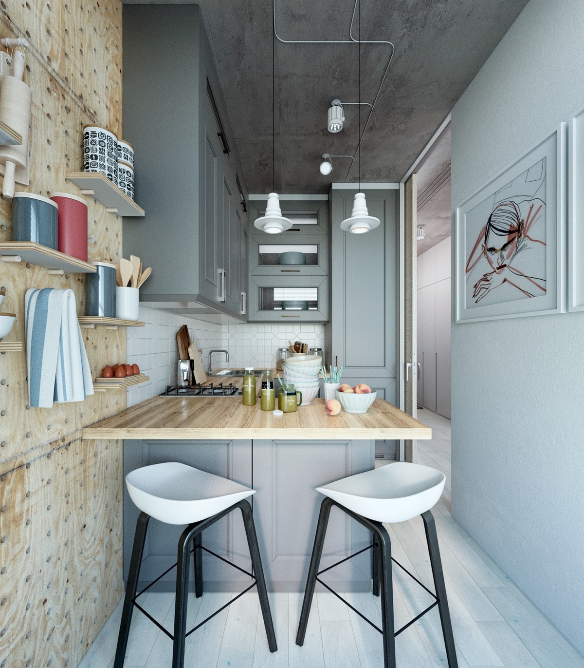 Small Apartment Designs Small Apartment Design With Scandinavian Style That Looks