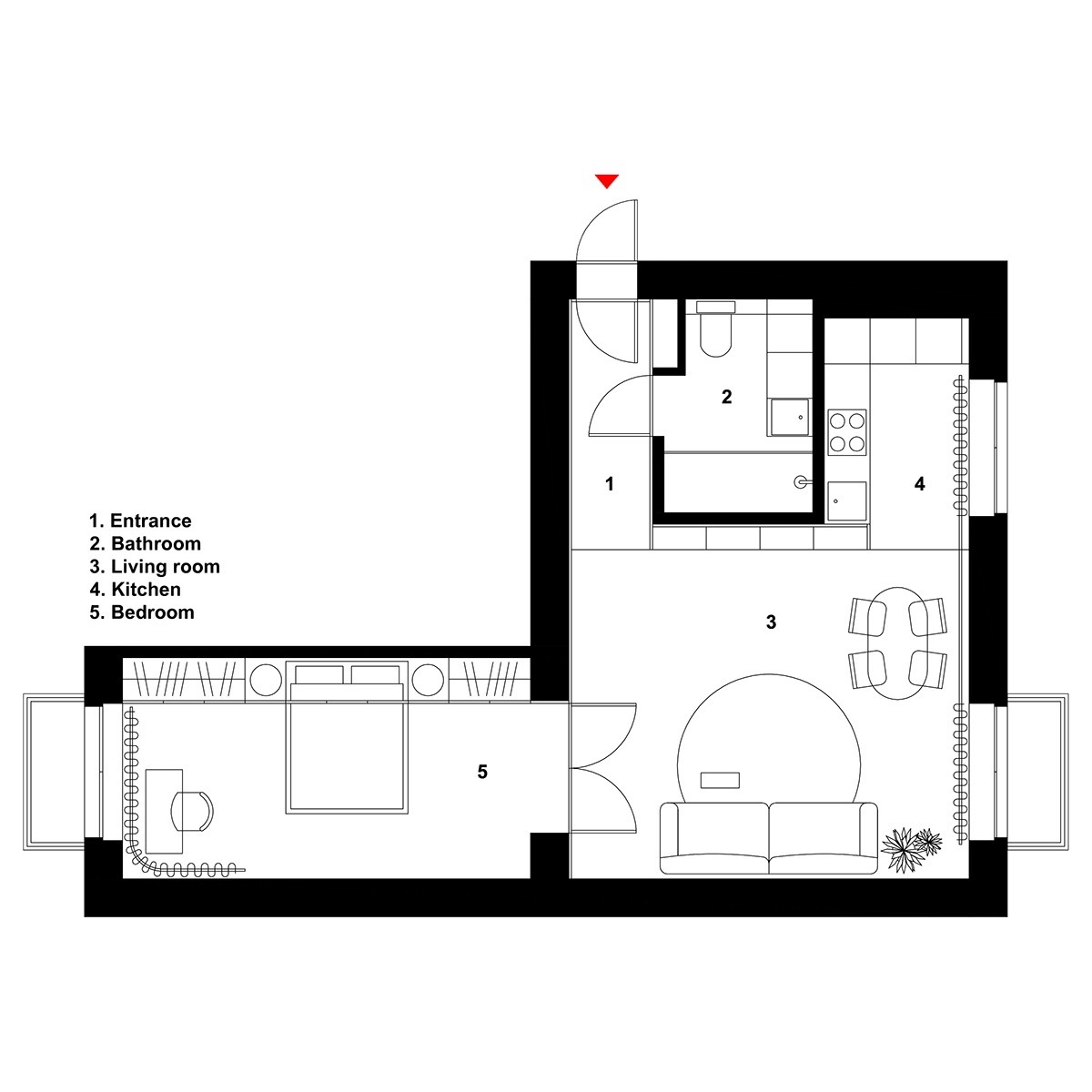600 Sq Ft Apartment 600 Square Feet Apartment Design With Wonderful Maximalist
