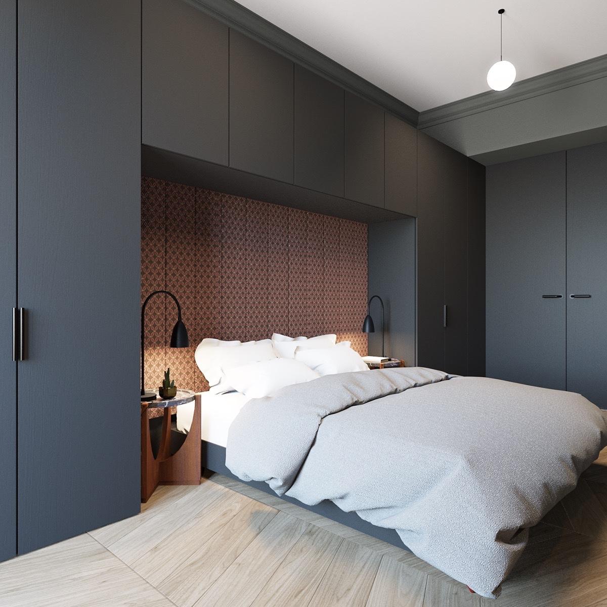600 Square Feet Apartment Design With Wonderful Maximalist