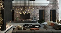Dark Interior Style - Modern Luxury Living Room Ideas ...