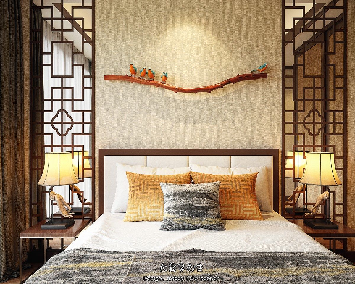 3d House Wallpaper Room Beautiful Apartment Interior Design With Chinese Style