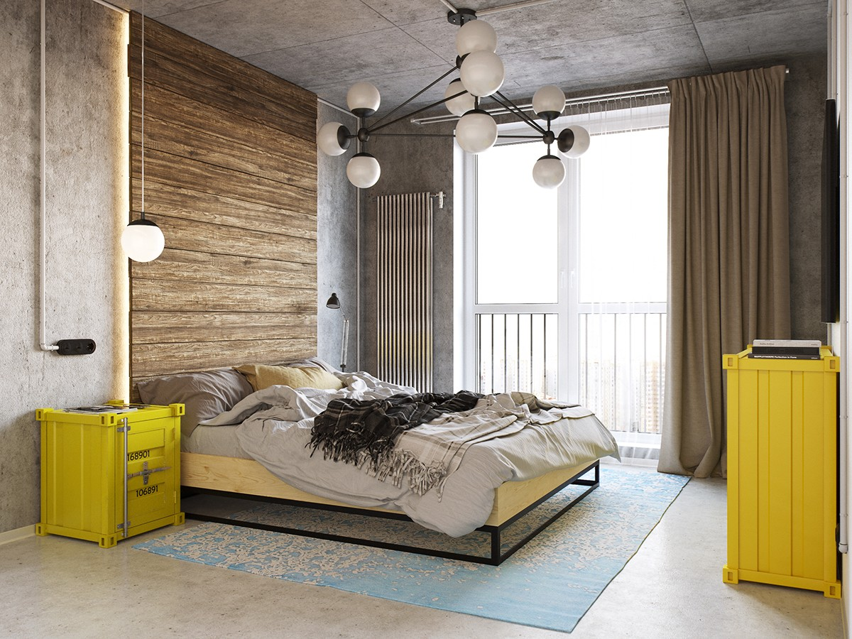 Industrial Bedroom Design Trendy Bedroom Designs With A Contemporary And Luxury
