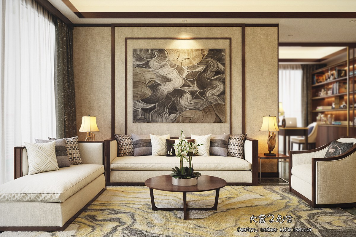 Interior Decorative Items Beautiful Apartment Interior Design With Chinese Style