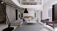 Luxurious Home Design With Monochromatic Style - RooHome ...
