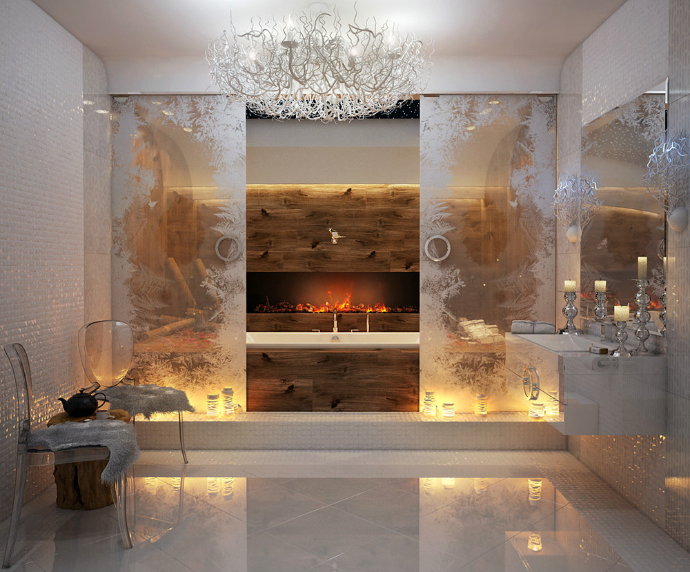 30 Bathroom Design Ideas Complete With Arranging The Small Space And Modern Design In It Roohome