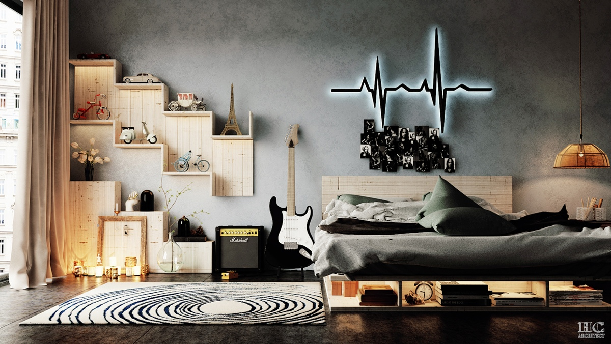 Applying Modern Bedroom Designs Below Decorated With A Variety Of Wall Texture Design Ideas Roohome