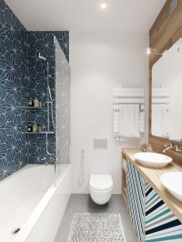 Minimalist Bathroom Designs With Wall Texture Decor Which ...