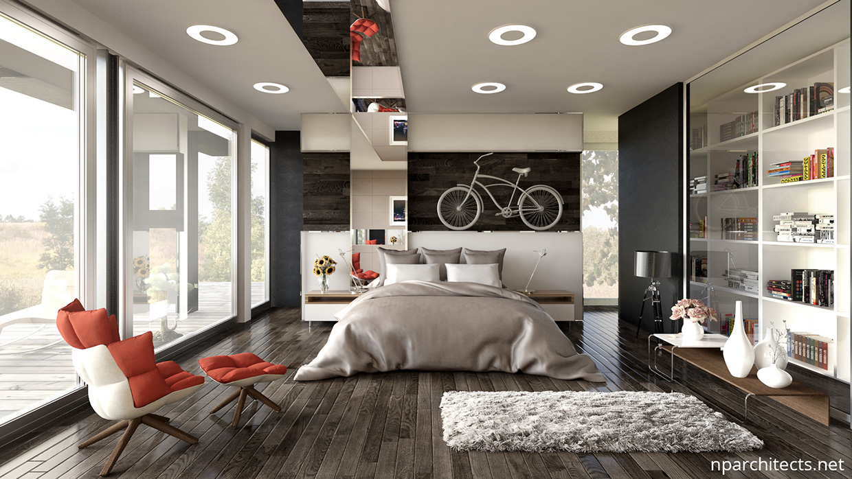 Luxury Bedroom Design Ideas With A Awesome Wall Decoration Will Make So Outstanding Roohome