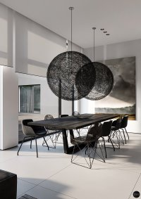 Find Modern and Minimalist Dining Room Designs With ...