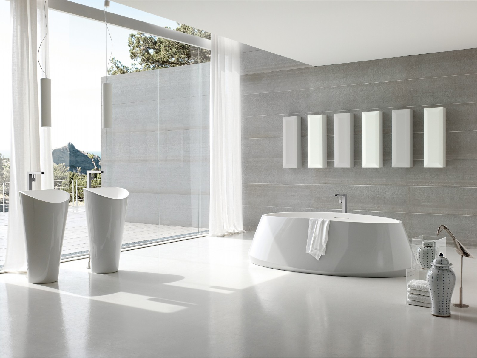 Inspiration To Decor Modern Bathroom Design Ideas Bring A Beauty And Serenity Impression In It Roohome
