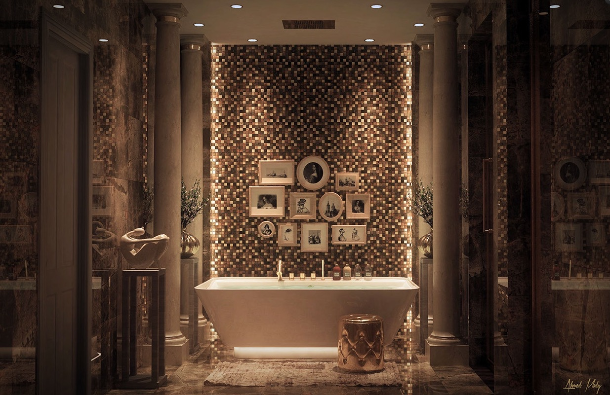 Luxury Bathroom Decor With Beautiful And Trendy Design Which Looks So Stunning Roohome