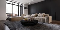 Dark Living Room Design Ideas With Sophisticated Decor ...