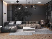 Dark Living Room Design Ideas With Sophisticated Decor ...
