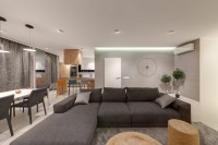 Decorating Contemporary Living Room Interior Combined ...