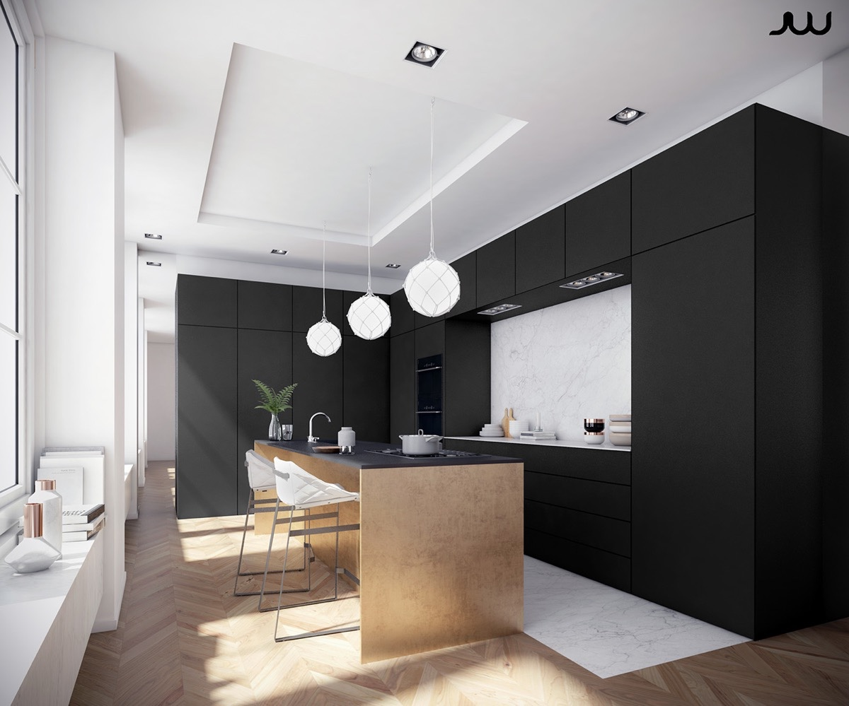 Modern Kitchen Designs Which Looks Perfect With A Minimalist And Classic Interior