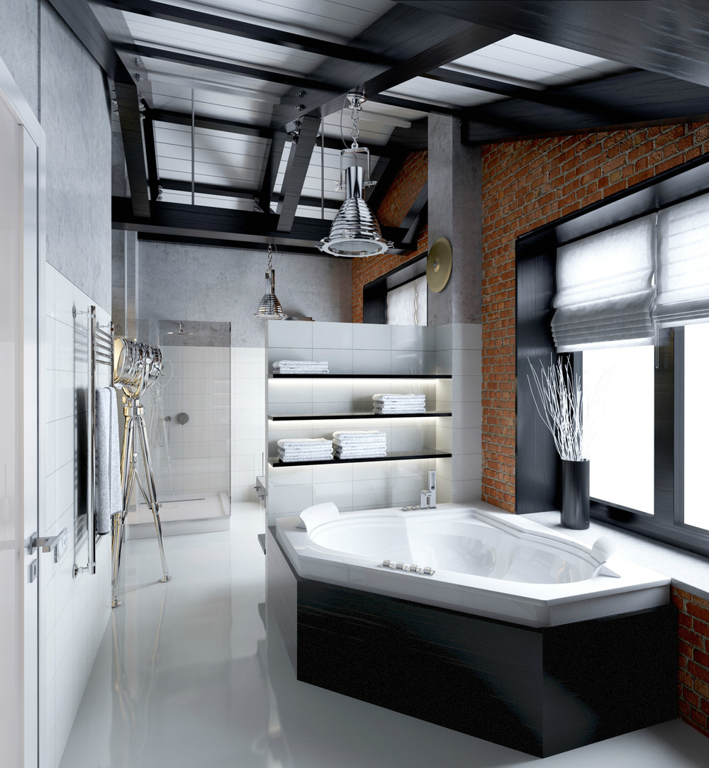 Contemporary Bathroom Designs Ideas With A Trendy And Chic Interior