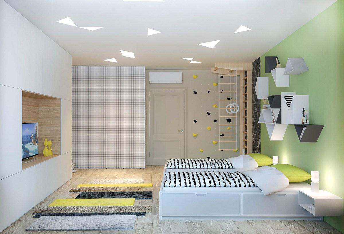 Minimalist Apartment Design Which Combine A Modern Decor