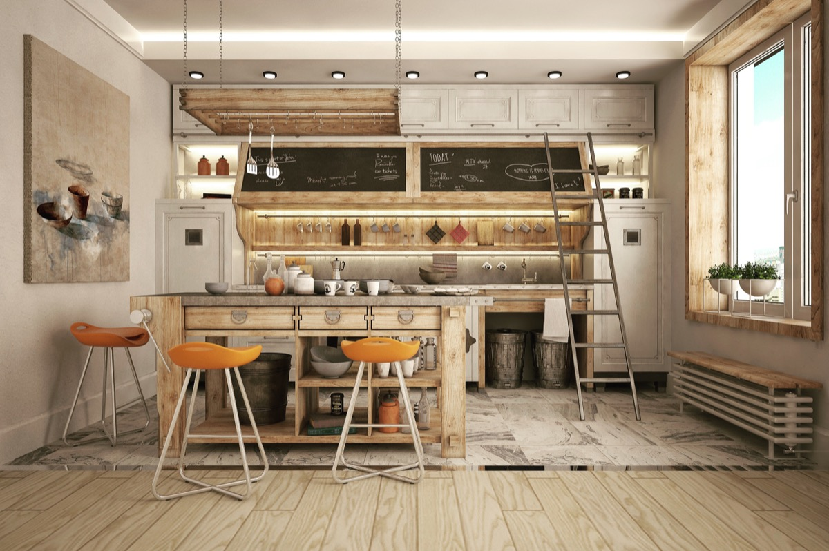 Industrial Kitchen Designs Applied With Fashionable Decor Ideas Looks So Outstanding