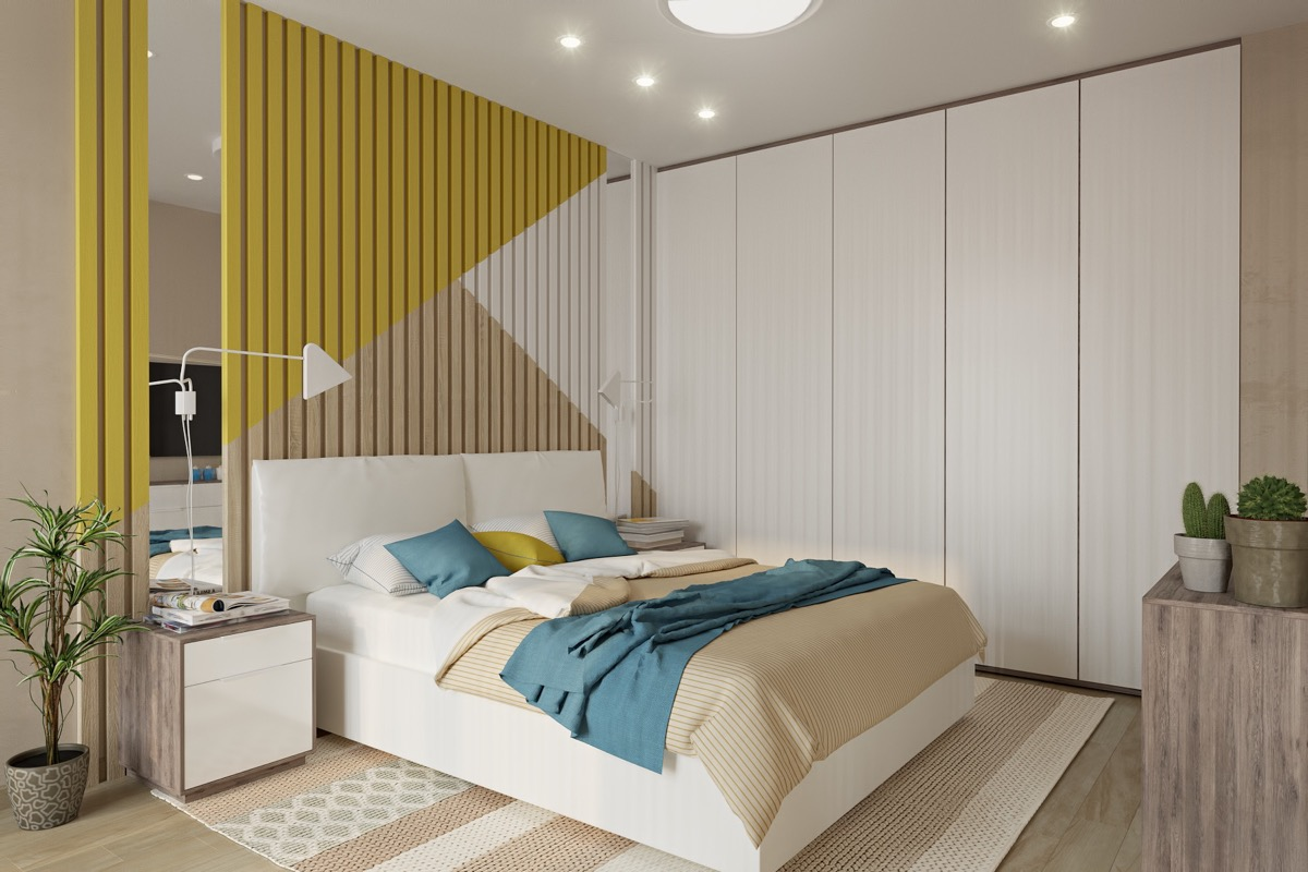 Modern Bedroom Layout Modern Bedroom Ideas With Wooden Scheme Design Bring Out A Trendy