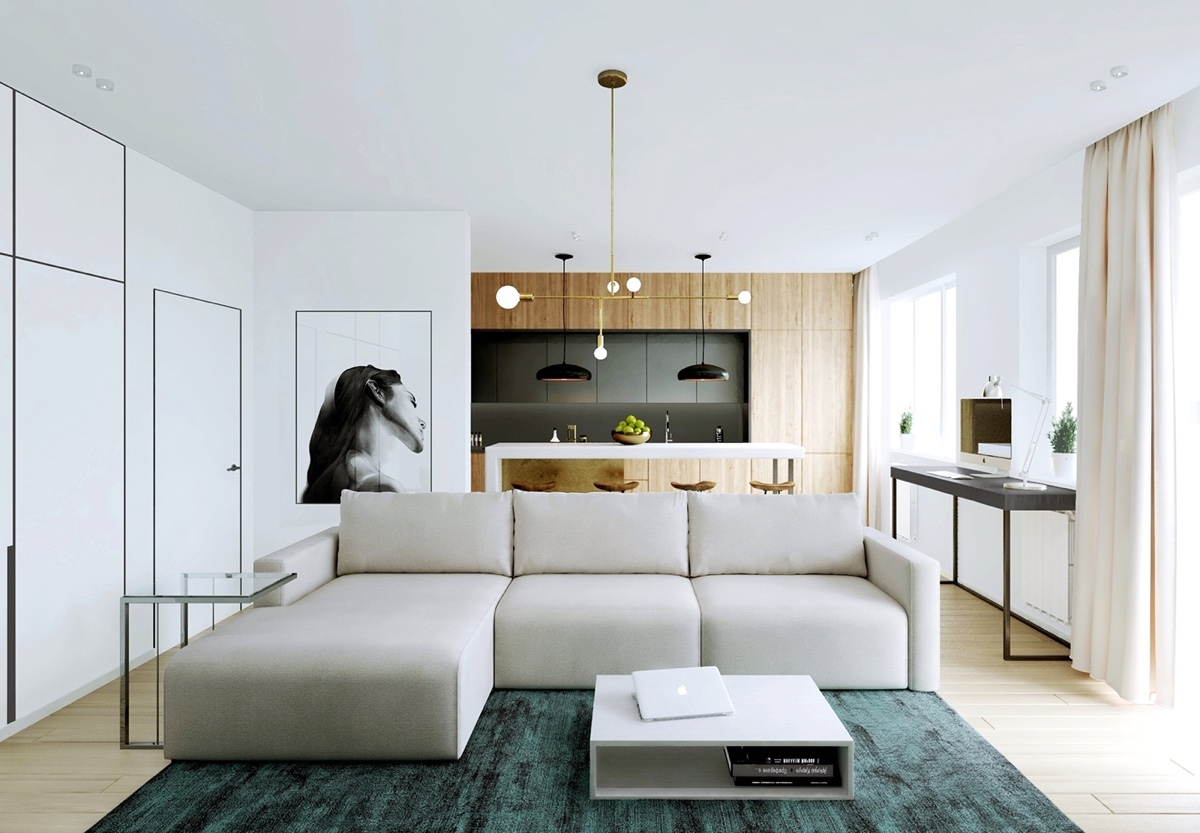 Modern Apartment Decor Modern Apartment Decor With Minimalist And Natural Neutral